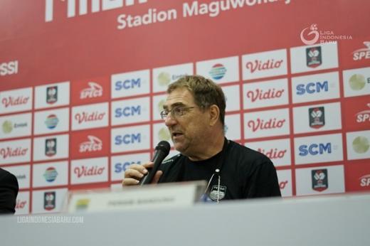 Imbangi Bali United, Robert Albert. Saya Tidak Melihat Hasil Akhir