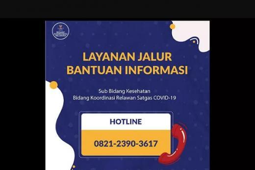 Hotline Layanan Cek Ketersediaan Kamar RS Bisa Digunakan Masyarakat