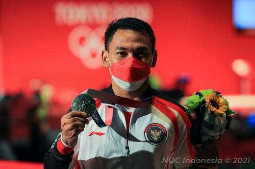 Eko Bersyukur Bisa Persembahkan Medali Perak