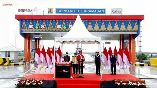Diresmikan Jokowi, Jarak Tempuh Bakauheni-Palembang Hanya 3,5 Jam Lewat Jalan Tol Kayu Agung