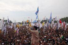 Kampanye di NTB, Prabowo Komitmen Bentuk Pemerintahan Anti Korupsi