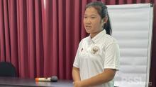 Azra Zifa Kayla Kaget Dipanggil Timnas Wanita Indonesia