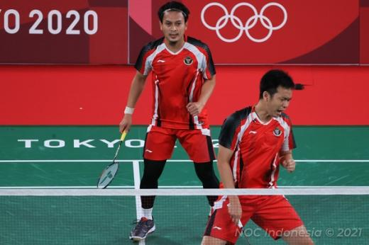 Tundukkan Wakil India, Marcus/Kevin Amankan Tiket Perempatfinal