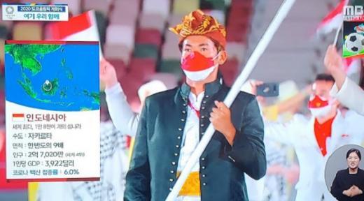 Permalukan Indonesia di Olimpiade Tokyo, TV Korea Sebut GDP Rendah, 6% Penduduknya Terinfeksi Covid