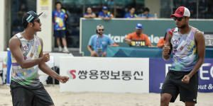 Ade Candra-Ashfiya Ketemu Qatar di Final Voli Pantai