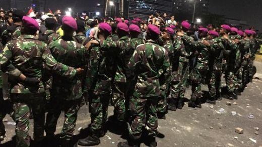 Ada Ketegangan Marinir-Polri di Wisma TNI Saat Demo, Ini Kata Panglima TNI