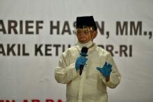 Syarief Hasan: Saya Bangga Santri Sudah Paham 4 Pilar MPR