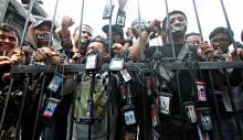 AJI: 56 Jurnalis Diintimidasi saat Liput Demo, Pelakunya Adalah Polisi