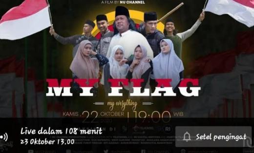 KH Luthfi Bashori: Film My Flag Merah Putih VS Radikalisme Diskreditkan Cadar