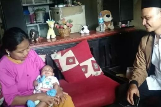 Bayi 40 Hari Dijahit Hidungya Setelah Diamuk Tikus Got