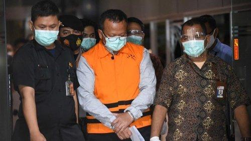 Resmi jadi Tersangka, Edhy Mundur dari Waketum Gerindra dan Jabatan Menteri KKP