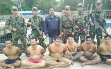 TNI AL Ringkus Komplotan Perompak Saat Akan Beraksi di Selat Malaka Dinihari