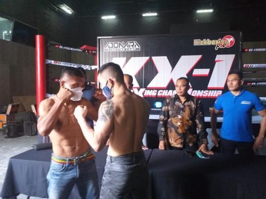 Sebanyak 40 Kickboxer Tampil di KX-1 Kickboxing Championship 2020