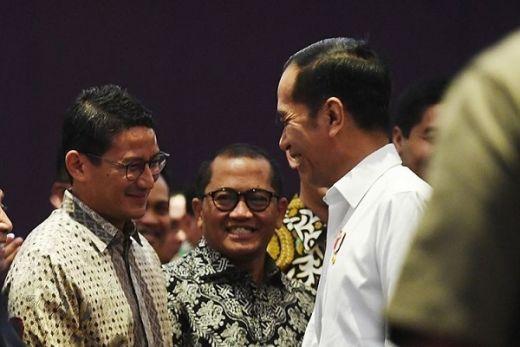 Digoda Jokowi Maju Pilpres 2024, Sandiaga Uno: Masih Terlalu Dini