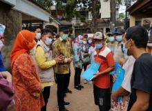 Kemendagri Ganti 5.490 KK Warga Tangerang yang Terdampak Banjir