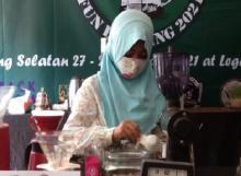 Gairahkan Bisnis Kopi, Barista Cilik Ramaikan Kompetisi di Tangsel