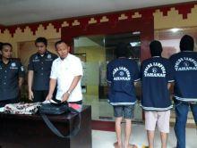 Polisi Ringkus Komplotan Pencuri Modus Goyang Pintu dan Gembos Ban di Lampung