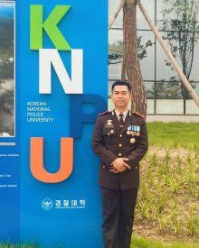 Satu-satunya, Polisi Asal Riau Ini Diutus ke Korea Selatan untuk Berbagi Ilmu Kepolisian Kepada 8 Negara Asia