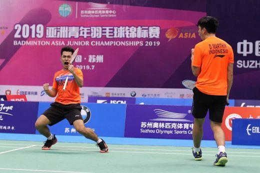 Wow ... Leo-Daniel Kembali Menang, Indonesia Amankan Dua Tiket Final (