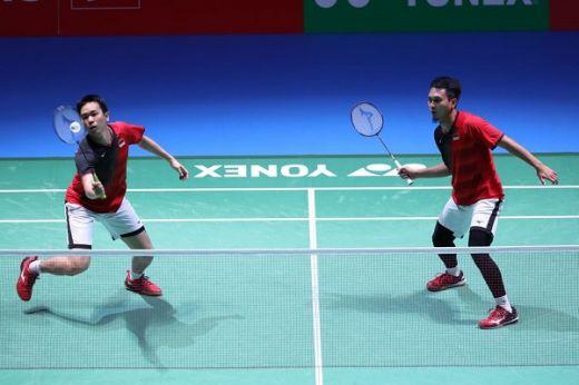 Hendra-Ahsan Amankan Tiket Semifinal