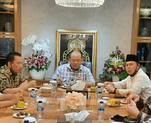 Bertemu Kabareskrim, Sultan Najamudin Apresiasi Respon Petinggi Polri dalam Kasus Djoko Tjandra