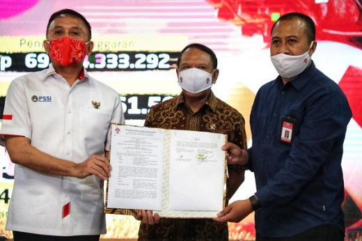 Dapat Bantuan Dana Pelatnas Terbesar, Iwan Bule Lontarkan Puja-puji
