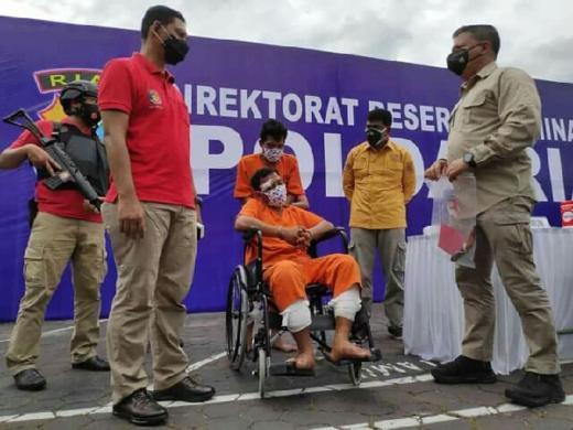Terungkap, Pengusaha Rental Mobil di Pekanbaru Dibunuh, 2 Pelaku Ditangkap di Panti Pijat
