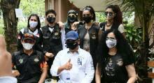 Ketua MPR Ajak Lady Bikers jadi Relawan Empat Pilar