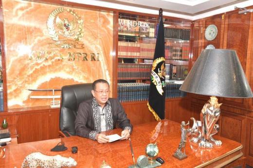 Kuliah Umum Universitas Pamulang, Ketua MPR Ingatkan Pentingnya Pokok-Pokok Haluan Negara