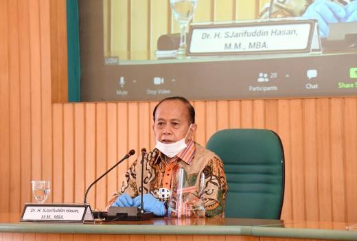 Bahas Wacana Amandemen UUD NRI Tahun 1945, MPR Gandeng Guru Besar UGM