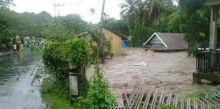 Gudang Penyimpanan Jebol, Ribuan Ton Beras Milik Bulog Rusak Terendam Banjir