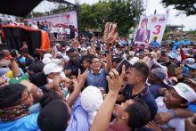Di Sidrap, Sulawesi Selatan, Sandi: Stop Impor Beras!