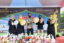 Sambut Ramadan, Forum Pekanbaru Bertuah Gelar Festival Rebana