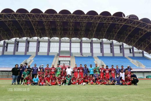 Persita Tangerang Diliburkan Usai Latihan Game Internal