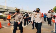 Lebih dari 10 Ribuan Personel Gabungan Amankan Demo Bermassa 4 Ribuan