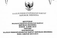 Riuh Perubahan Masa Jabatan Presiden, DPD Ungkap Isi Rekomendasi MPR Periode Lalu