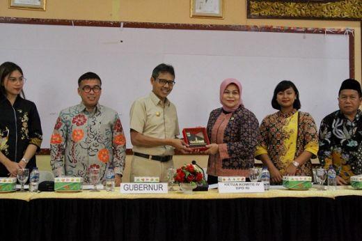 Kungker ke Sumbar, Komite IV DPD Soroti Kondisi Investasi Daerah