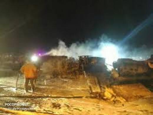Lion Air Terbakar di Philipina, 8 Orang Tewas