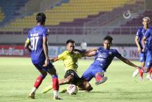Pemain Arema FC Diminta Lupakan Hasil Buruk Lawan Barito