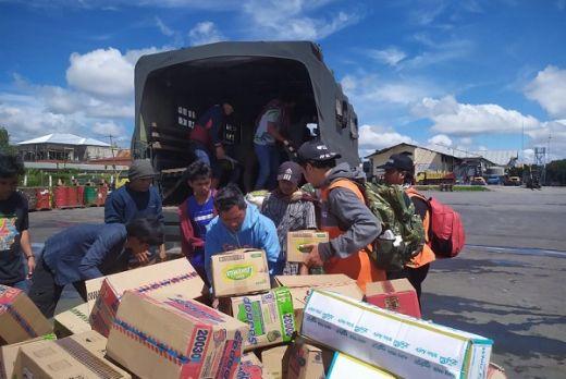 Bantu Korban Rusuh Wamena, Tim Kemanusiaan Rumah Zakat Action Tiba di Pos Induk