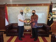 Bertemu Koperasi Awak Garuda, Ketua MPR RI Dukung Usaha Peternakan Domba