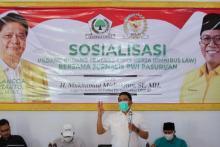 Reses, Misbakhun Gandeng Organisasi Wartawan Sosialisasikan Ciptaker