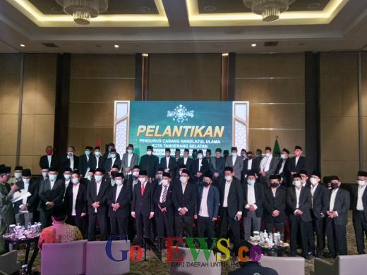 Resmi Dilantik, PCNU Tangsel Targetkan 10 Ribu Kader Penggerak