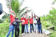 Basmi Hama Tikus, Bamsoet Lepas Burung Hantu Bareng SOKSI di Tabanan Bali