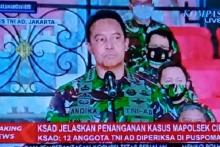 TNI Pastikan Pecat Prajurit Terlibat Insiden Mapolsek Ciracas