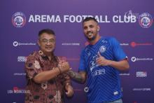 Caio Ruan Lino Jadikan Aremania Alasan Gabung Arema FC
