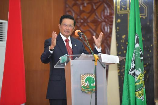 Di Universitas Andalas, Fadel Muhammad Sebut Pertanian Bisa Jadi Tulang Punggung Pembangunan
