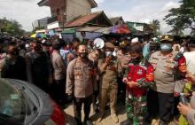 Polisi Bubarkan Kerumunan Haul Syekh Abdul Qodir Al Jaelani