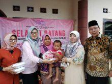 Sambangi Tiga Desa, PIA DPR RI Bantu Korban Gempa dan Tsunami Banten