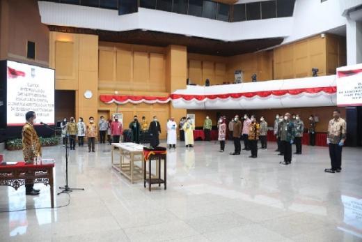 Lantik 808 Pejabat Fungsional, Mendagri: Jangan menjadi Pengangguran Terselubung